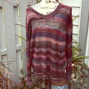 Armani Exchange striped lightweight sweater XL